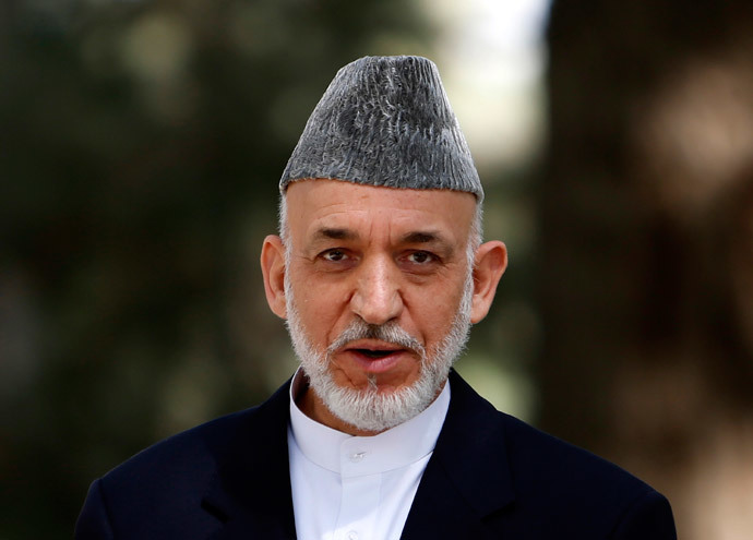 Afghan President Hamid Karzai (Reuters / Mohammad Ismail)