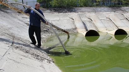 Ukraine builds dam cutting off Crimea water supply
