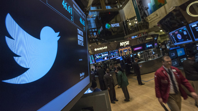 Twitter's $132bn Q1 loss sends shares tumbling more than 11%