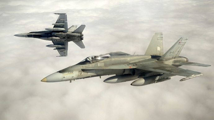 Mission uncertain: Canadian planes leave for Eastern Europe to assist NATO