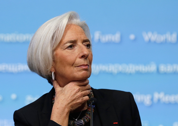 International Monetary Fund (IMF) Managing Director Christine Lagarde (Reuters / Gary Cameron)