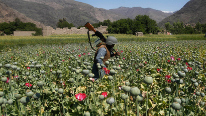 Heroin production hits record levels in Afghanistan - study