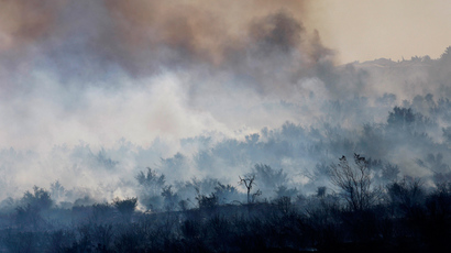 Deadly Oklahoma wildfire destroys homes, causes mass evacuation (VIDEO)