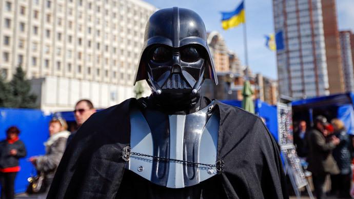 Dark side of Ukraine's election: Darth Vader runs for mayor in Kiev, Odessa
