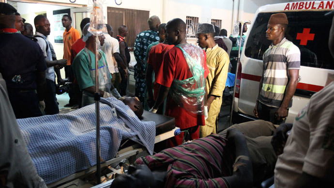 Blast targets football fans in Nigeria, at least 14 killed