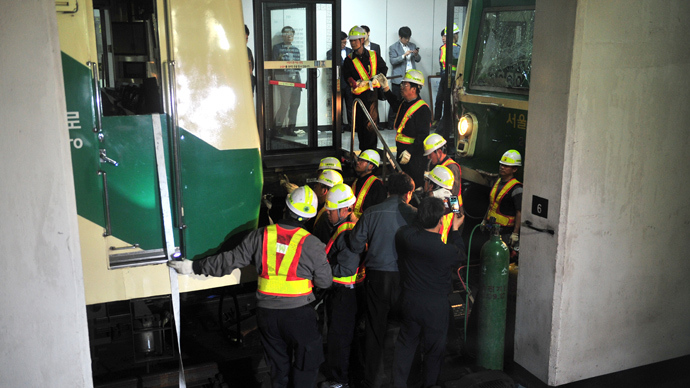 Over 200 injured as two trains collide in Seoul subway