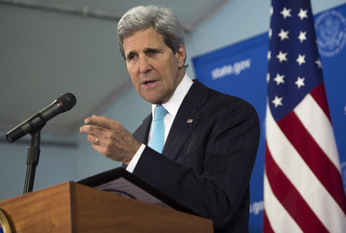 US Secretary of State John Kerry (AFP Photo / Pool / Saul Loeb)