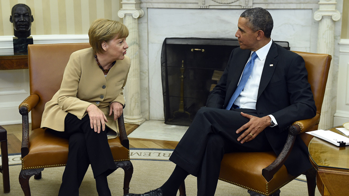 Obama, Merkel threaten broad sanctions in case Ukraine elections are disrupted