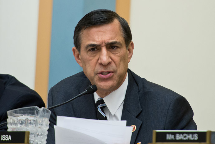 US Republican Representative from California Darrell Issa (AFP Photo / Nicholas Kamm)