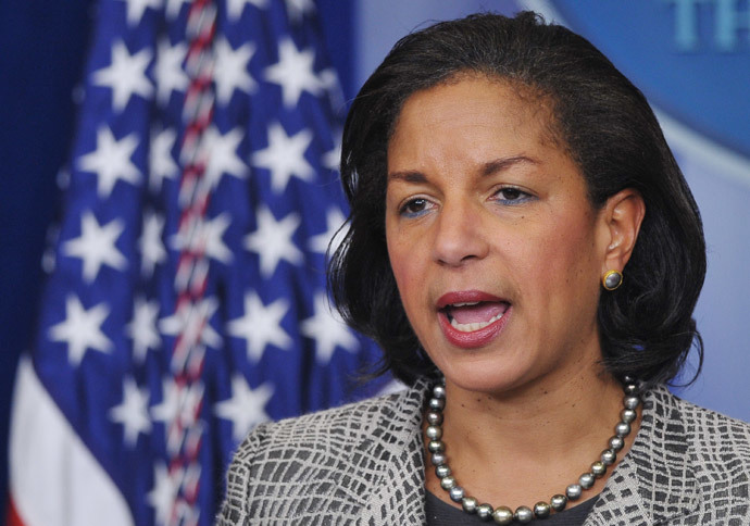 US National Security Advisor Susan Rice (AFP Photo / Mandel Ngan)