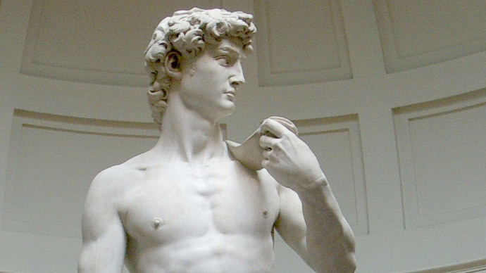 Michelangelo's statue of David in danger of collapsing