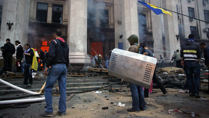 West reluctant to point finger at nationalist radicals in Ukraine crisis