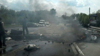 Over 10 shot dead by Right Sector radicals near Slavyansk in eastern Ukraine - reports