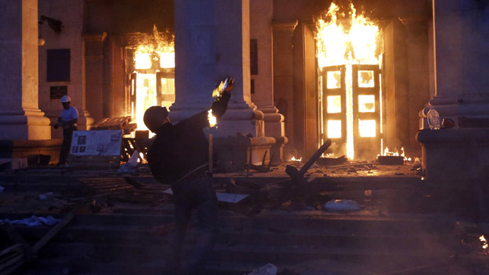 Provocation gone wrong: Murky forces instigating Odessa violence?