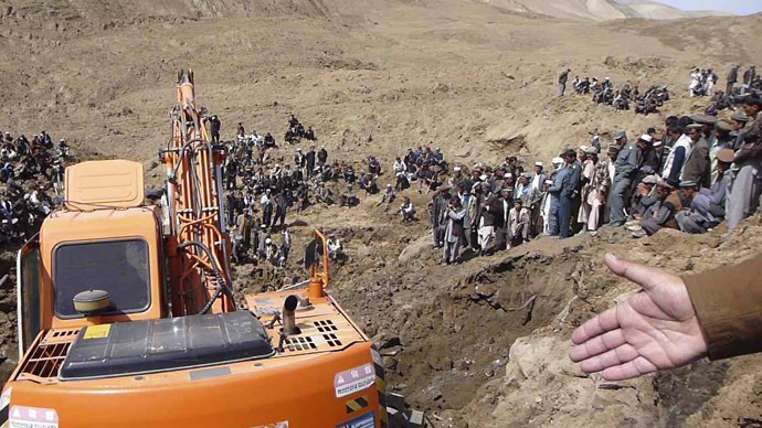 Over 2,100 dead in Afghan landslide
