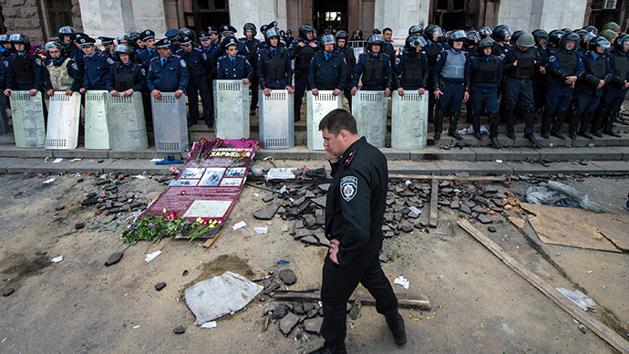 Newly appointed Odessa police chief vows to revise release of anti-Kiev activists