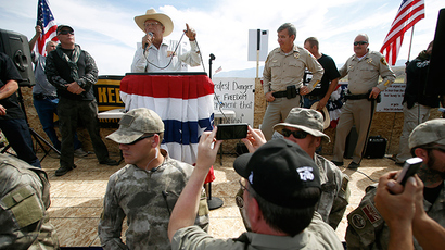 Bundy supporters defy feds by riding ATVs in off-limits Utah canyon
