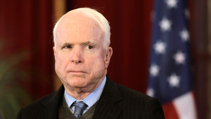 U.S. Senator John McCain (Reuters / Ints Kalnins)