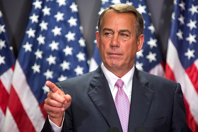 U.S. House Speaker John Boehner (R-OH) (Reuters)