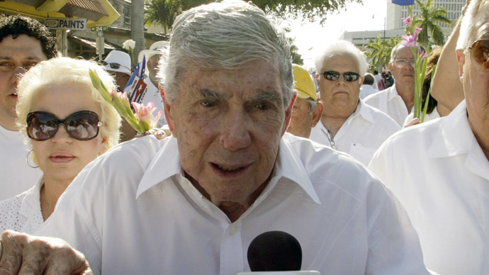 Cuban exile and former CIA operative Luis Posada Carriles (Reuters/Joe Skipper)