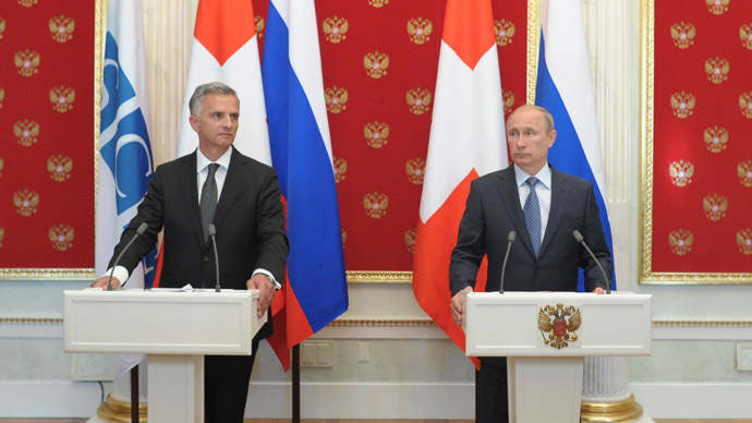 Putin – Burkhalter talks: an elusive chance for Ukraine