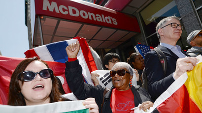 #FastFoodGlobal:  'McWorkers' organize global wage strike