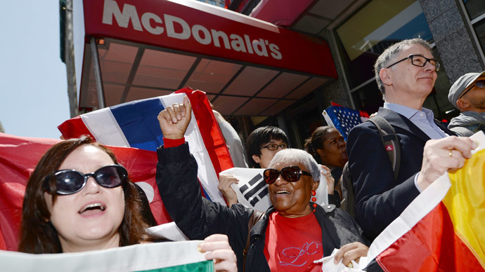 #FastFoodGlobal: Thousands of workers to stage a strike in 150 US cities, 32 other countries