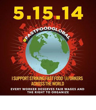 A special poster designed by the organizers and posted to the Fast-Food Forward's Facebook page (almost 10,000 subscribers)