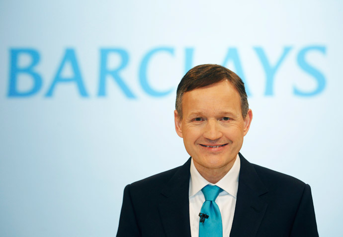 Barclays chief executive Antony Jenkins (Reuters / Luke MacGregor)