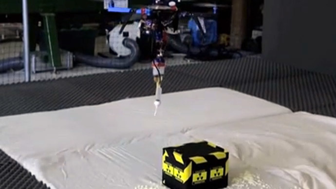 Flying '3D printers' could help seal nuclear waste, inventors say (VIDEO)