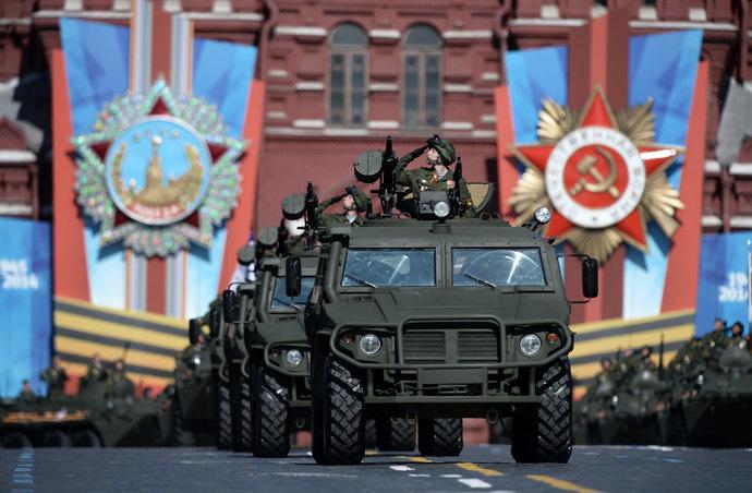 GAZ -2330 'Tiger' combat cars (RIA Novosti)