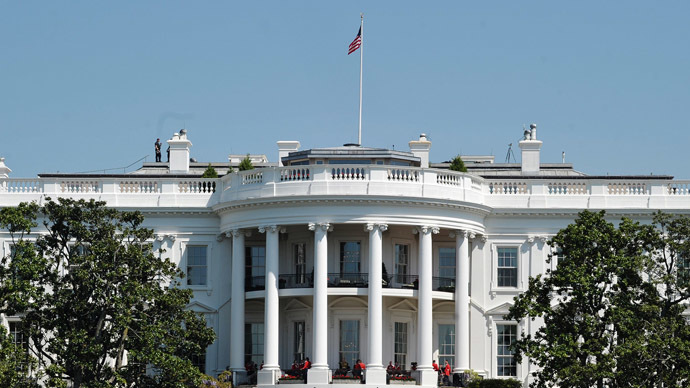 2 people arrested and charged for throwing paper and tape at White House
