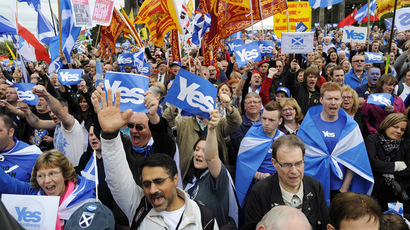 Kingdom divided: Scottish independence campaign kicks off