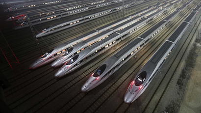 ​China tests 3,000-kph 'super-Maglev' train concept