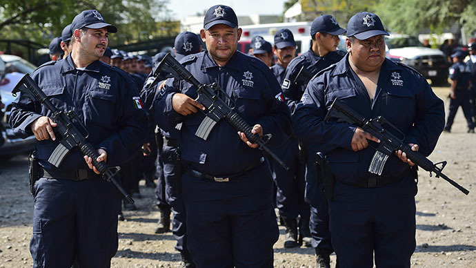 Papa Smurf's army: Mexico turns vigilantes into police force to battle murderous drug cartel