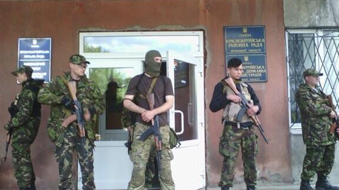 Fatalities, injuries in Ukraine's Krasnoarmeysk as national guards open fire