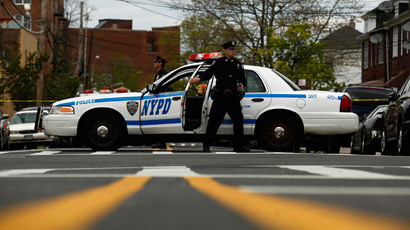 NYPD officer caught on camera violently tackling pregnant woman onto her stomach (VIDEO)