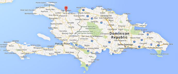 Cap-Haïtien, Haiti (Google Maps)
