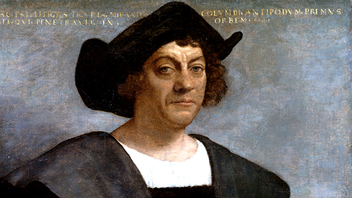 Christopher Columbus (Image from wikipedia.org)