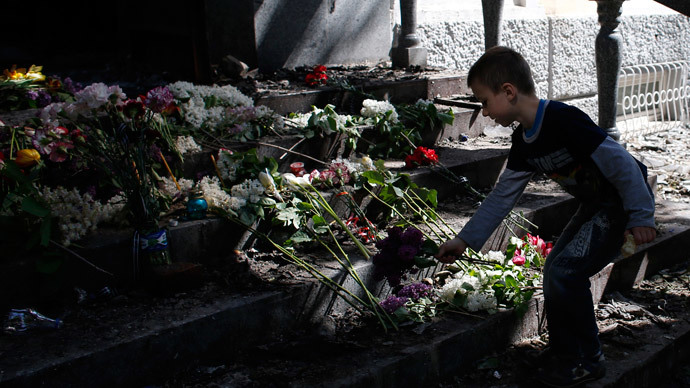 Ukraine communist leader: Kiev labeled 7 mn people 'terrorists,' slaughtered civilians