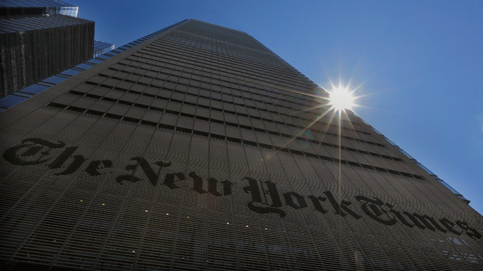 NY Times, Justice Dept. under fire for concealing info on NSA snooping