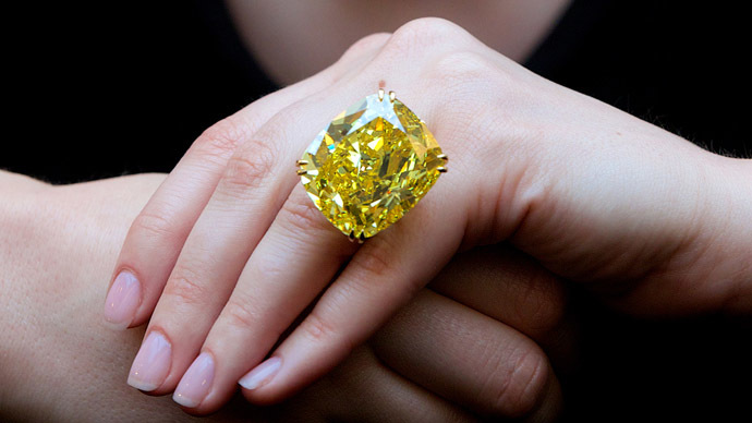 ​World's biggest yellow diamond sold for $16.3mn in Geneva