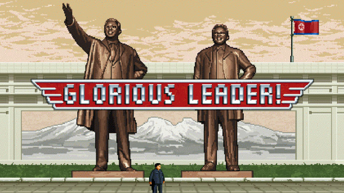 Glorious Leader! Kim Jong-un takes on US army in new video game