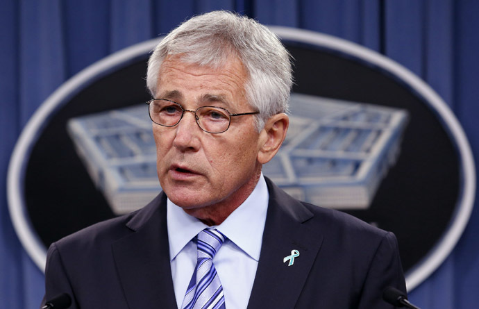 U.S. Secretary of Defense Chuck Hagel (Reuters/Yuri Gripas)
