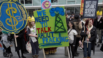 UK to hush fracking victims with $1.35mn as vast new reserves uncovered