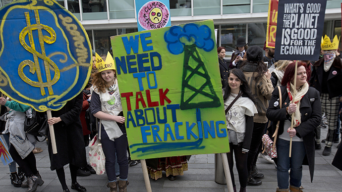 ​'Bribing' communities to frack is costing UK govt thousands of votes