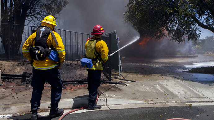 State of emergency declared in San Diego County as wildfires rage (PHOTOS)