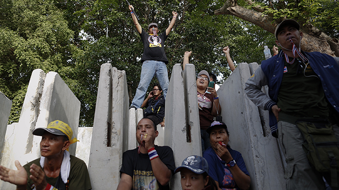 2 people killed, 21 wounded in attack on Bangkok protest site