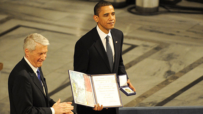 ​White House was embarrassed by 'fawning' 2009 Nobel Prize – Norwegian diplomat