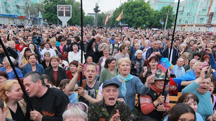 Kiev proclaims post-referendum Donetsk, Lugansk regions 'terrorist organizations'